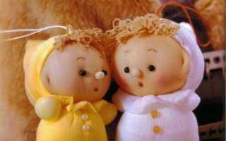 Как сделать куклу из капроновых колготок