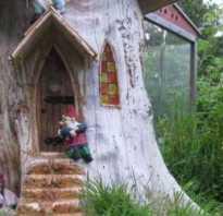 Что можно сделать из спиленного дерева