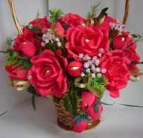 Как сделать из гофрированной бумаги цветы розы