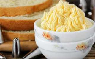 Как сделать масляный крем