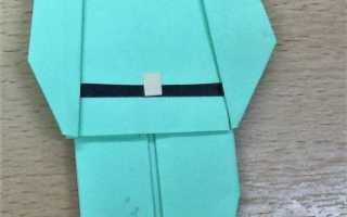 Как сделать солдатика из бумаги