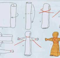 Как сделать куклу оберег своими руками