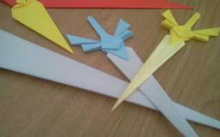 Как сделать катану из картона