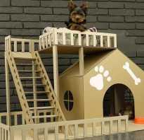 Как сделать домик для петов