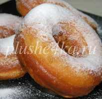 Как сделать пончики из дрожжевого теста