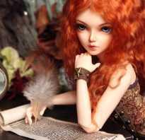 Как сделать куклу из холодного фарфора