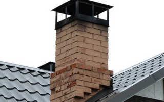 Как сделать трубу на крыше