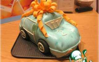 Как сделать торт машину