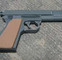 Как сделать простой пистолет из бумаги