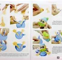 Как сделать куклу из фоамирана