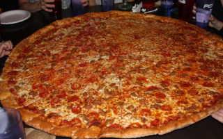Как сделать пиццу круглой формы