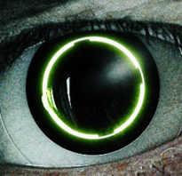 Как сделать светящиеся глаза