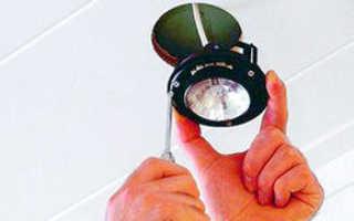 Как сделать потолок под точечные светильники
