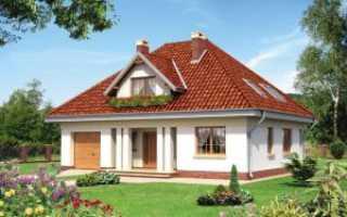 Как сделать четырехскатную крышу дома