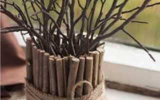 Что можно сделать из палок дерева