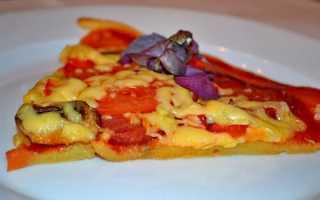 Как сделать тесто для пиццы без яиц