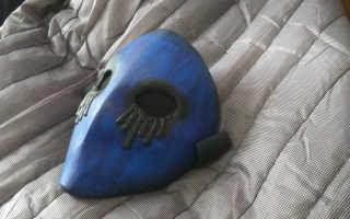 Как сделать маску безглазого джека