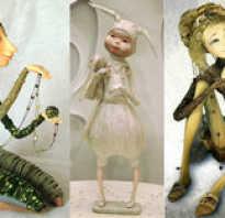 Как сделать каркас для куклы