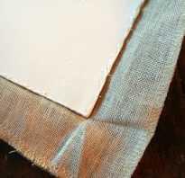 Как сделать рамку для вышивки