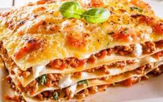 Как сделать тесто для лазаньи