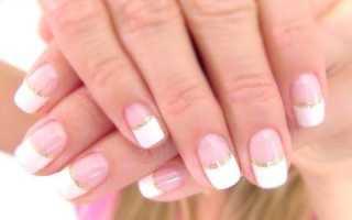 Как сделать френч на коротких ногтях