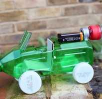 Как сделать машину из бутылки