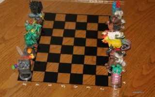 Как сделать шахматы из дерева