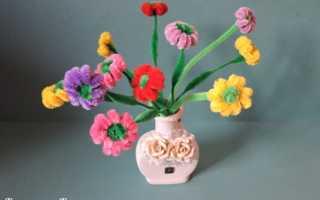 Как сделать цветок из проволоки