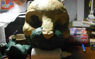 Как сделать маску фурри