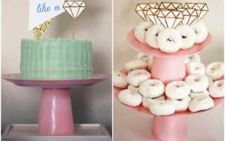 Как сделать подставку для торта