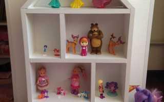 Как сделать комнату для кукол