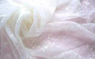 Как постирать тюль, чтобы она стала белоснежной: эффективные способы