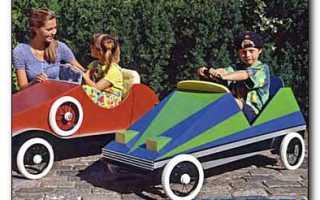 Как сделать машину на педалях