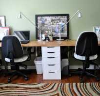 Как организовать рабочие места в детской для двоих детей