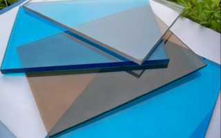Как сделать крышу из поликарбоната