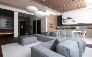 Как оформить гостиную с камином: советы профи