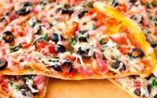 Как сделать тесто на кефире для пиццы