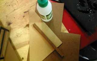 Как сделать лесенку в кукольный домик