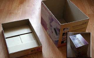 Как сделать коробку для рукоделия своими руками