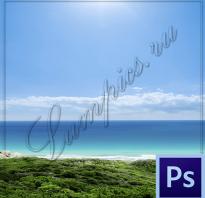 Как сделать подпись на фото в фотошопе