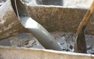 Как сделать цементный раствор
