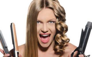 Как сделать укладку утюжком на средние волосы