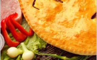 Как сделать тесто для пирога с мясом