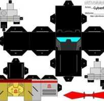 Как сделать трансформера из картона