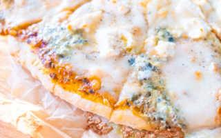 Как сделать пиццу 4 сыра