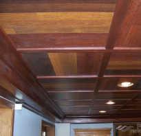 Как сделать потолок из ламината