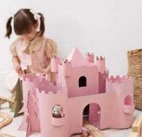 Как сделать замок из картона