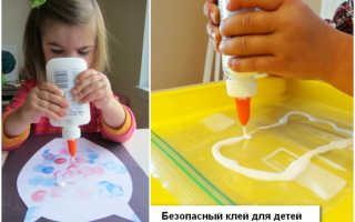 Как сделать съедобный клей