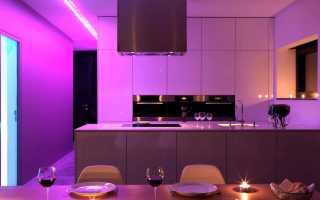 Как использовать светодиодное освещение в современном интерьере