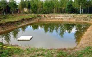 Как сделать фундамент если вода близко